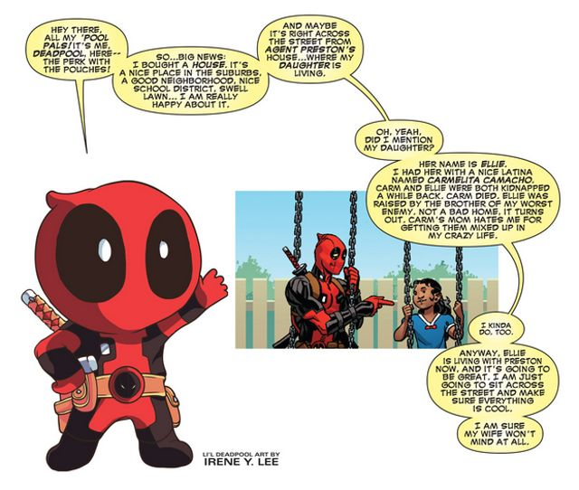 deadpool daughter